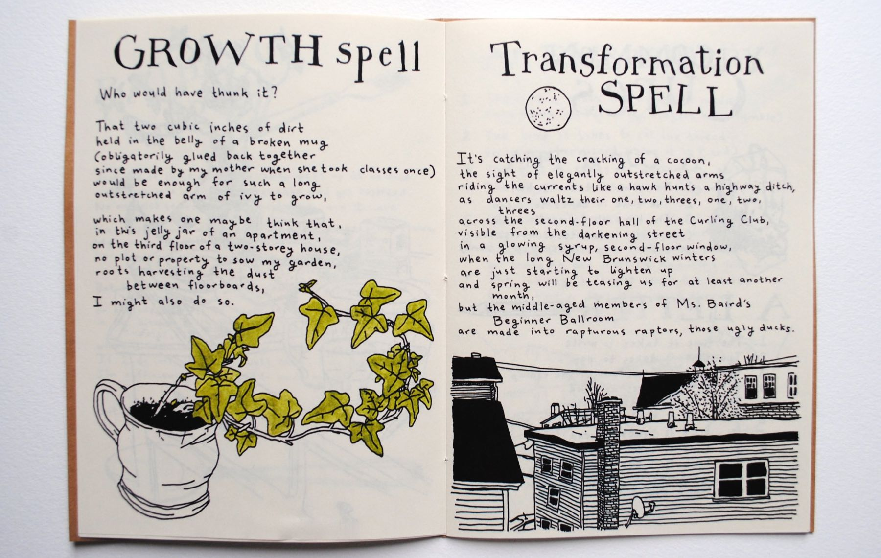 Spell Book For An Attic Gardener By Laura K Watson The